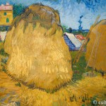 Heuschober in der Provence. | Wheat Stacks in Provence