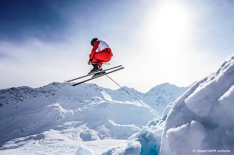 FREE SKI FREESTYLE SKIING FIS WC Arosa AROSA SWITZERLAND 05 FEB 15 FREE SKI FREESTYLE SKIING
