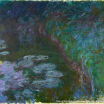 Claude Oscar Monet: Seerosen (Nymphéas), um 1915, Wallraf-Richartz-Museum & Fondation Corboud, Gemäldesammlung, Inv.-Nr. Dep. 0377 (WRM 3266) (Foto: © Rheinisches Bildarchiv Köln, rba_d022393_01)