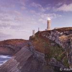Leuchtturm Cabo Mayor nahe Santander, Kantabrien, Spanien,