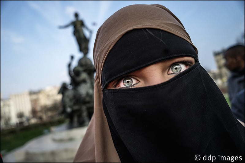 Protest Against Islamophobia - Paris