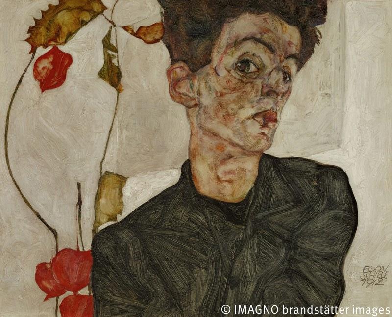 Selbstportrait Egon Schiele