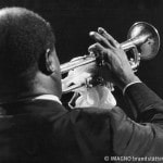 Louis Armstrong in der Wiener Stadthalle