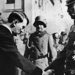 Tag von Potsdam Reichstagseröffnung - Hitler verabschiedet sich von Reichspräsident Hindenburg