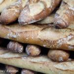 Pile de baguettes à l'ancienne