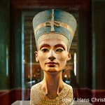 Ägyptisches Museum und Papyrussammlung, SMB - Modellbüste der Nofretete