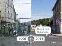 25 Jahre Deutsche Einheit in Wurzen – Then & Now Photo Slider von ullstein bild