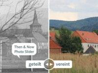 Then & Now Photo Slider mit Bildern von Jürgen Ritter