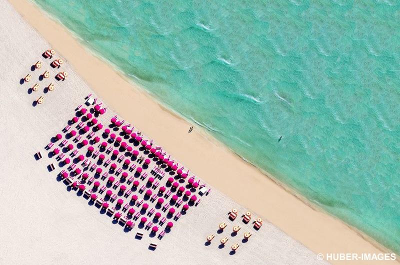 Blick über South Miami Beach in Miami, Florida, USA