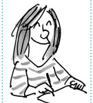 Karin Mihm ist nun auch Catprinterin