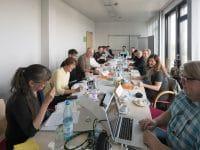 Fotoverbände an einem Tisch: mfm-Branchentreff zur Überarbeitung der Bildhonorar-Publikation