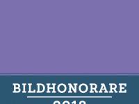 Bildhonorare 2018: Neue Struktur, bewährte Übersicht