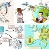Neu bei dieKLEINERT.de: Illustratorin Christina Bretschneider