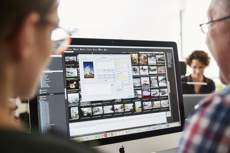 Professionelle digitale Bildverwaltung