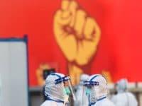 imago images zeigt weltweite Corona-Pandemie in Bildern und bleibt sportlich aktiv
