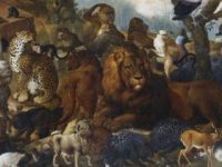 """Im Detail: """"Die Menagerie des Landgrafen Carl"""" von Johann Melchior Roos"""
