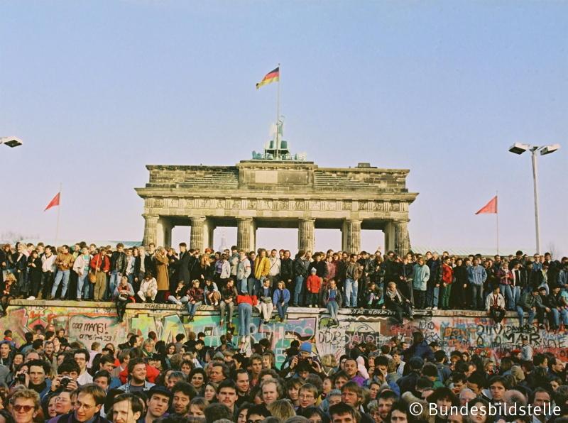 Mauerfall 1989 / Brandenburger Tor