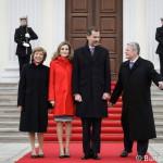 König Felipe VI. von Spanien in Berlin 2014