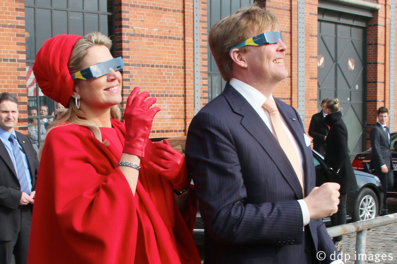 Dutch Royals visit Hamburg