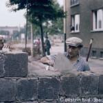 Berlin Mauer Bau 1961