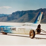 Blue Flame rocket car, 1970 (photo)