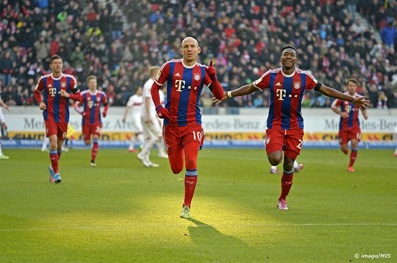 07 02 2015 Fussball 1 Bundesliga 2014 2015 20 Spieltag VfB Stuttgart FC Bayern München in der