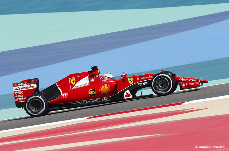 Motorsports FIA Formula One World Championship WM Weltmeisterschaft 2015 Grand Prix of Bahrain 5