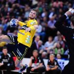 Handball REWE Final Four um den DHB Pokal 2014 2015 Halbfinale Rhein Neckar Löwen SG Flensburg H