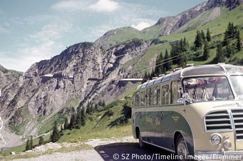 Busausflug nach Österreich/Fremmer