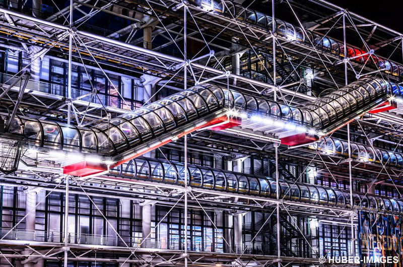 Museum Centre Georges Pompidou, Paris, Ile de France, Frankreich