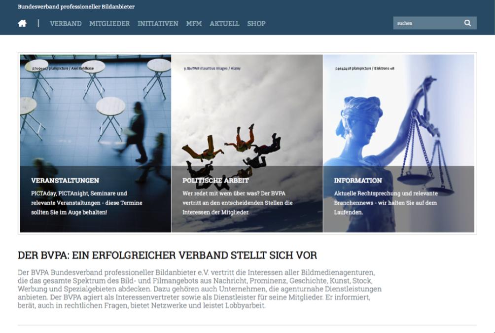 Startseiten_Relaunch_BVPA