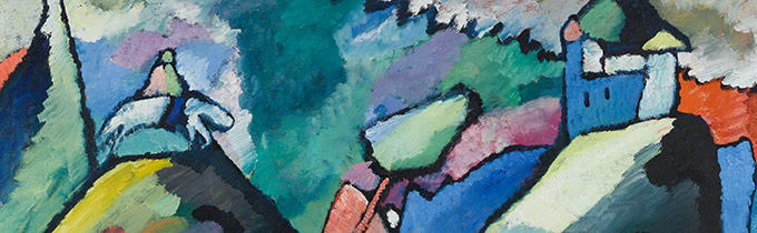 Datierung: 1910Material/Technik: Gemälde / Öl auf LeinwandHöhe x Breite: 110 x 110 cmInventar-Nr.: 2723, Artist: Wassily Kandinsky