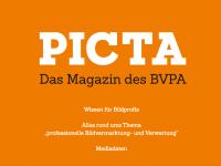 """Ihr Auftritt im """"PICTA-Magazin"""" 2018"""