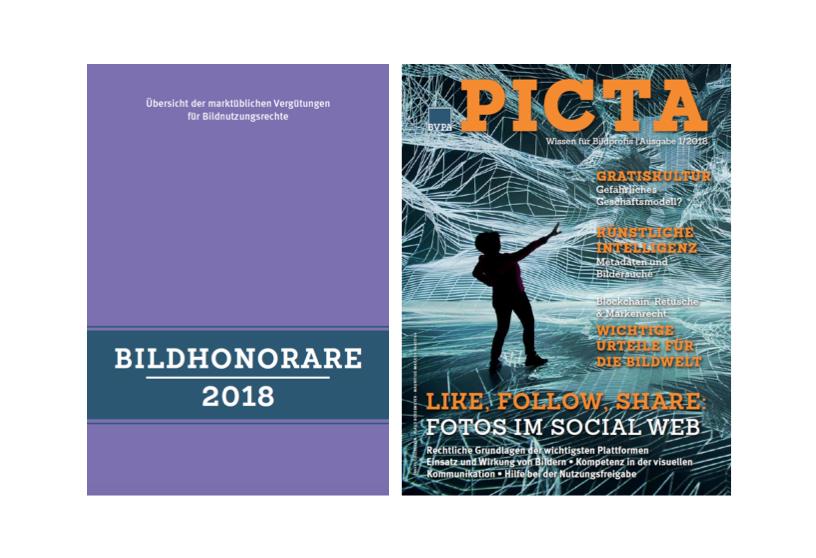 Print-Paket: Bildhonorare 2018 + PICTA-Magazin 01/2018
