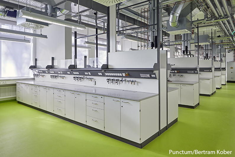 IFG Ingenieure, Labor Berlin, FU Berlin-Dahlem