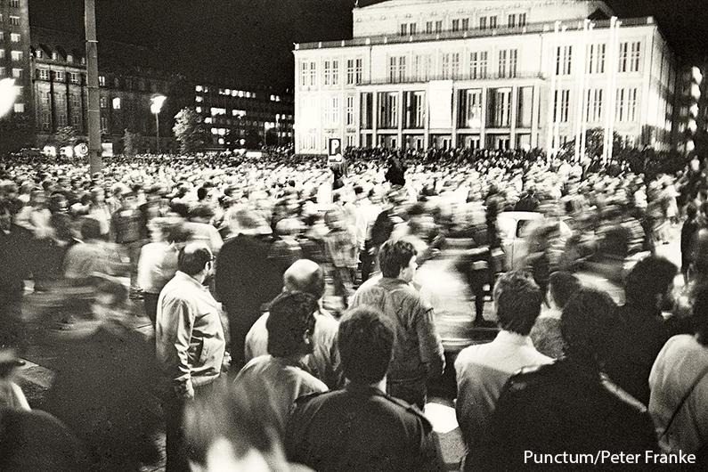 Leipzig: Montagsdemo 9.10.89